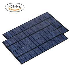 SUNWALK 2 Pieces 4.2W 18V PET + EVA Laminated Solar Panel Mi