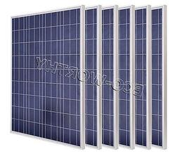 200W Photovoltaic Poly Solar Panel System 12V 200W COMPLETE