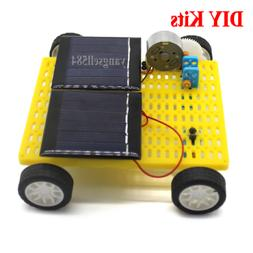 Photovoltaic Solar Power Toy New Energy DIY Kits Double Sola