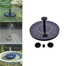 Dyna-Living Plants Watering Power Fountain Pool, Solar Panel