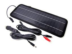 NEW NUZAMAS Poartable 4.5W Solar Panel Charger Power Car Bat