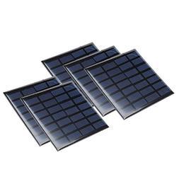 uxcell 5Pcs 7V 120mA Poly Mini Solar Cell Panel Module DIY f