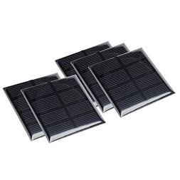 uxcell 5Pcs 2V 160mA Poly Mini Solar Cell Panel Module DIY f