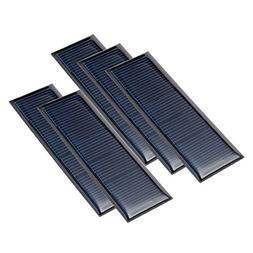 uxcell 5Pcs 5.5V 60mA Poly Mini Solar Cell Panel Module DIY