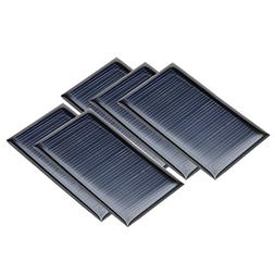 uxcell 5Pcs 5.5V 70mA Poly Mini Solar Cell Panel Module DIY