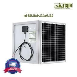 20W 12V Poly Solar Panel w/ MC4 Connector for Battery Charge