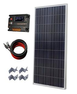 ECO-WORTHY 150W Polycrystalline Off Grid Solar Panel Kit wit