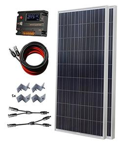 ECO-WORTHY 300 Watt  Polycrystalline Off Grid Solar Panel Ki