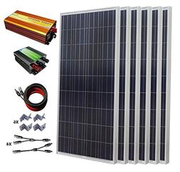 ECO-WORTHY 900W Polycrystalline 24v Off Grid Solar Panel Kit