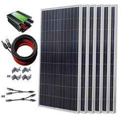 ECO-WORTHY 900W Polycrystalline 24 Volt Off Grid Solar Panel