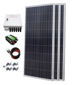 ECO-WORTHY 500W Polycrystalline Off Grid Solar Starter Kit: