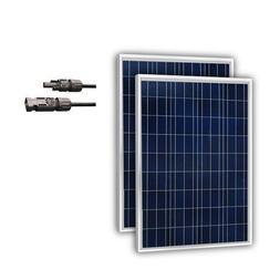 Newpowa 2 Piece 100W Polycrystalline Photovoltaic PV Solar P
