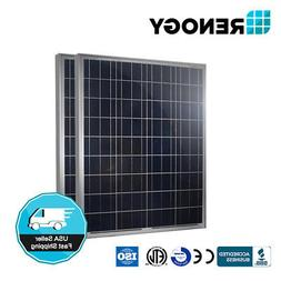RENOGY 2 Pcs 100 Watt 100w Polycrystalline Photovoltaic PV S