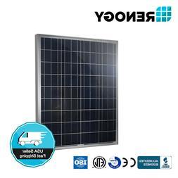 Renogy 100W Polycrystalline Photovoltaic PV Solar Panel Modu