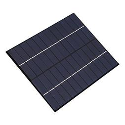 Fdit 4.5W 6V Polycrystalline Silicon Solar Panel for Cell Ph