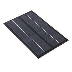 uxcell 195mm x 125mm 3 Watts 9 Volts Polycrystalline Solar C