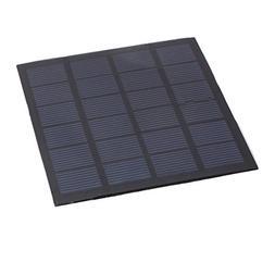 uxcell 110mm x 110mm 1.5 Watts 6 Volts Polycrystalline Solar