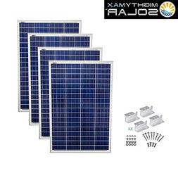 400 Watts 12 Volts Polycrystalline Solar Bundle Kit - Mighty