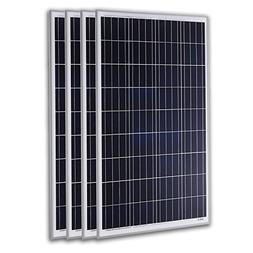 KOMAES 400 Watts 12 Volts Polycrystalline Solar Panel
