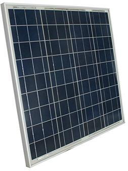 WindyNation 60 Watt 60W Polycrystalline 12V 12 Volt Solar Pa