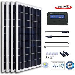 KOMAES 400 Watts 12Volts Polycrystalline Solar Panel with En