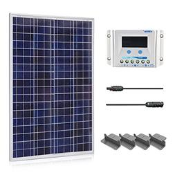 ACOPOWER 100 Watt 12 Volt Polycrystalline Solar Panel Kit w/