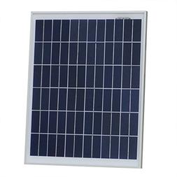 20 Watts 12 Volts Polycrystalline Solar Panel Module Battery