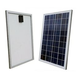 ECO-WORTHY 12V Volt Solar Panel 25W Watt Module Off Grid Cha