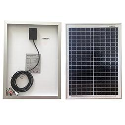 Renepv 20 Watt 12 Volt Polycrystalline Solar Panel Module Of