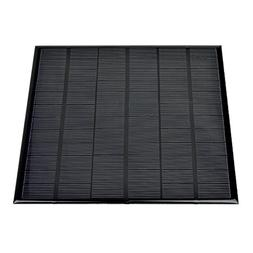 AOSHIKE 18V 4.5W Polycrystalline Solar Panel Photovoltaic Ep