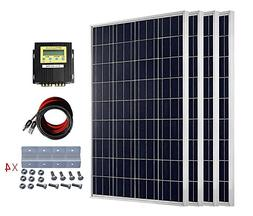 ECO-WORTHY 24 Volt 400 Watt Polycrystalline Solar Panel Star