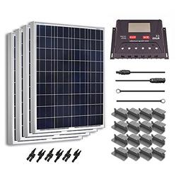 Renogy 400 Watt 12 Volt Polycrystalline Solar Starter Kit wi