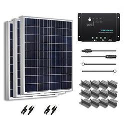 Renogy 300 Watt 12 Volt Polycrystalline Solar Starter Kit wi