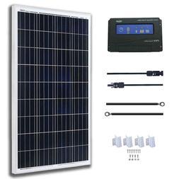 KOMAES 200 Watts 12Volts Polycrystalline Solar Panel With En