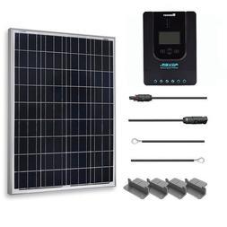 Renogy 100 Watt 12 Volt Polycrystalline Solar Starter Kit wi