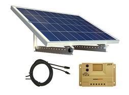 WindyNation Portable 100 Watt 12V Solar Panel Kit w/ Adjusta