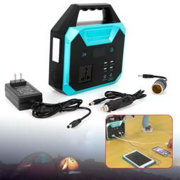 Portable 150Wh 100W Energy Power Storage Power Solar Generat