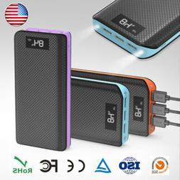 Portable 300000mAh Power Bank Backup External USB Battery Ch