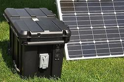Portable 5000/2500 Watt 200 Ah Solar Generator & 200 Watt So