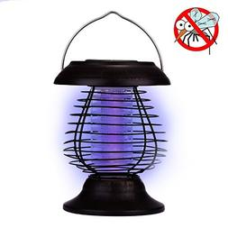 A-szcxtop Portable Anti-mosquito Light Solar Powered Outdoor