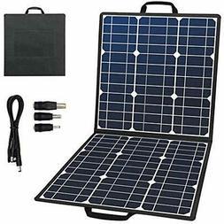 Portable Foldable Solar Panel Charger 50W 18V For Suaoki/Jac