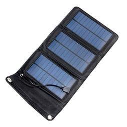 VORCOOL 5W Portable Foldable Solar Panel Waterproof Outdoor