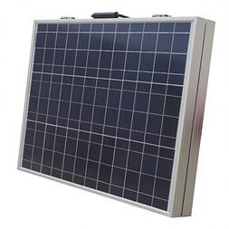ECO LLC 100W 12V Portable Folding Poly Solar Panel RV Boat B