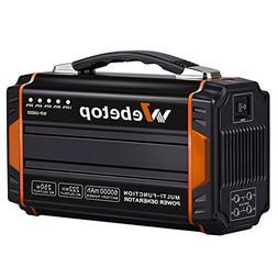Webetop 250W Portable Generators Power Inverter Battery 6000