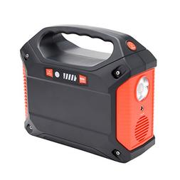 uxcell 100-Watt Portable Generator Power Inverter, 42000mAh