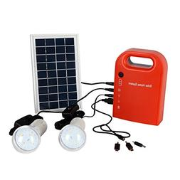 GAMILY Portable Home Outdoor Small DC Solar Panels Charging