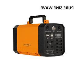 Portable Power Station 200Wh Solar Generator 300W Pure Sine