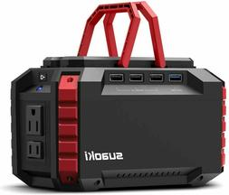 portable power station quiet gas free camping