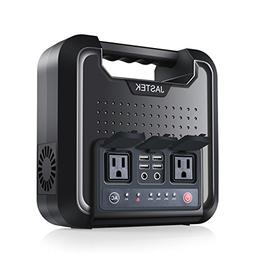 JASTEK 300W Portable Power Supply Uninterruptible 220Wh Back
