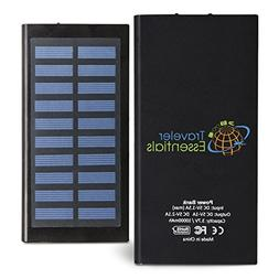 Portable Solar Charger with Removable Logo: Sophisticated, L